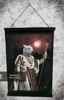 Bannière Velour - Moon Wolf