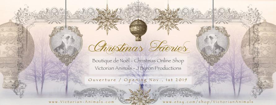 CHRISTMAS FAERIES BANNIERE FB Boutique 2