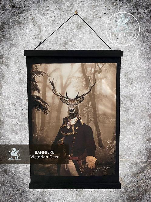 Bannière / Tenture Victorian Deer