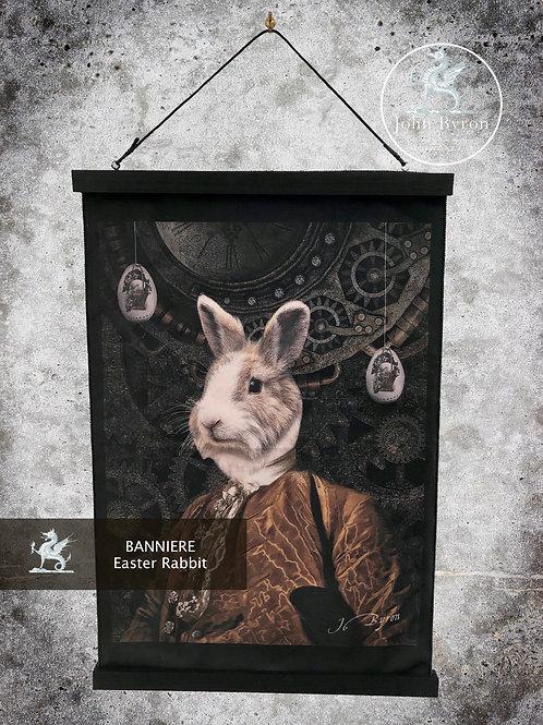Bannière / Tenture Easter Rabbit