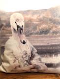 Coussin Velour - Swan