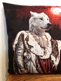 Coussin Velour - Moon Wolf