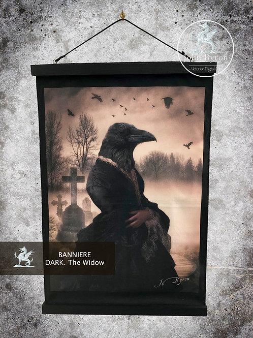 Bannière / Tenture The Widow (DarK)