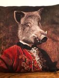 Coussin Velour - Wild Boar