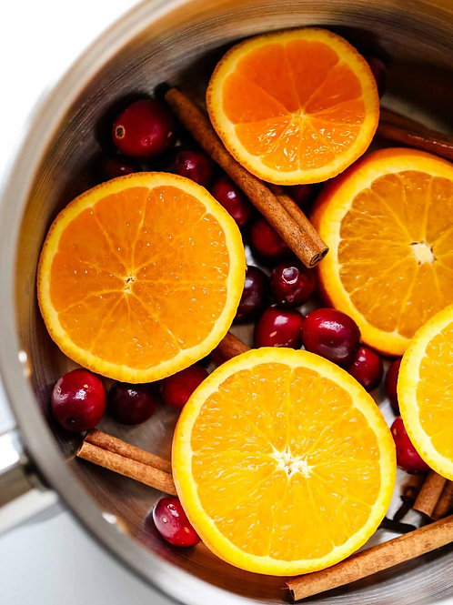 Cranberry, Orange and Cinnamon