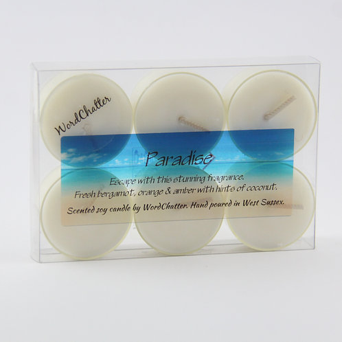 *Any 4 packs of tealights £18