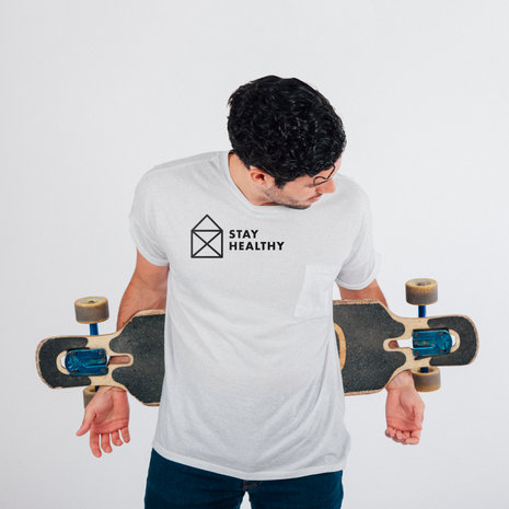 «Stay Healthy»-Shirts