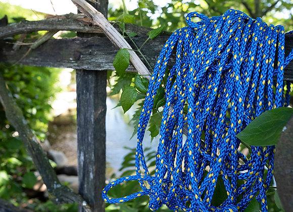 Knotennetz «Haus» (Blau)