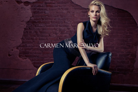 0002 Carmen Marc Valvo Fall Campaign by