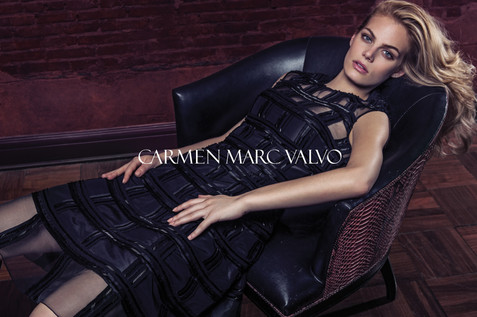 0001 Carmen Marc Valvo Fall Campaign by