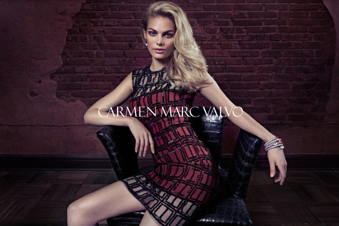 0004 Carmen Marc Valvo Fall Campaign by
