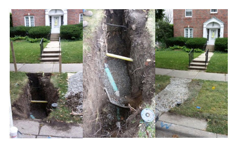 Oak Park Plumbing & Sewer Job - Collapsed Clean Out