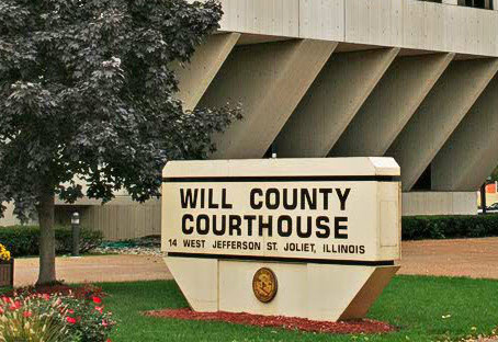 Will County Courthouse In Joliet, IL