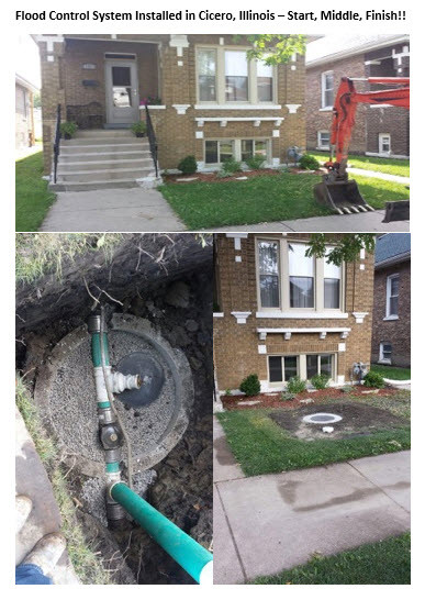 Flood Control System Installed Cicero Illinois Start, Middle, Finish.jpg