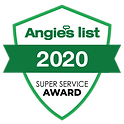 Angies list 2020 Super Service Award