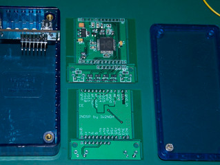 New PCB arrived and tested:)