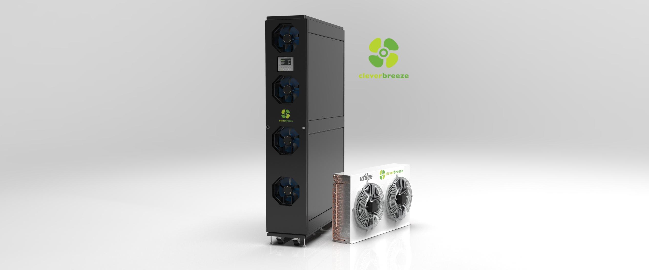Air datacenter cooling CleverBreeze
