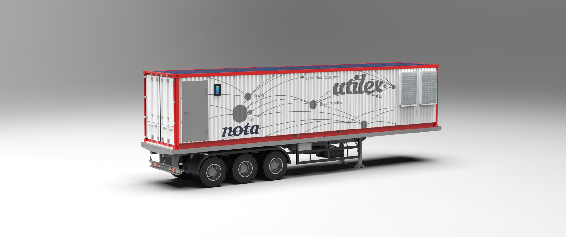 Mobile DataCenter NOTA container 40