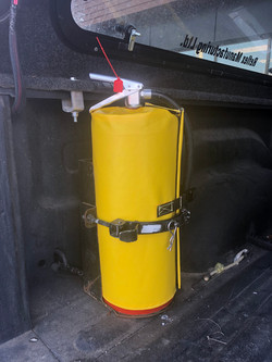 Safety Cover - Fire Extinguisher