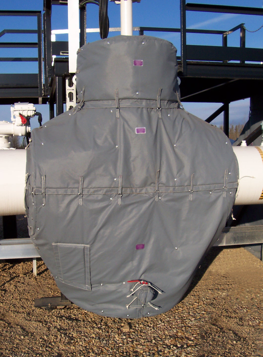 Insulation Blankets - Pipeline Meter