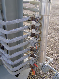 Removable Cover Tracer Wrap Manifold
