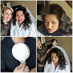 Perfect Bride to Be #beautifulbygina #bridalhairmakeup #vintagehair #couturehairandmakeup #glamsquad