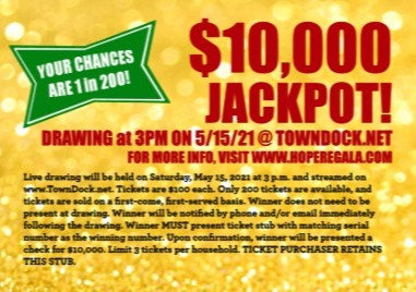 $10K Golden Raffle Tickets