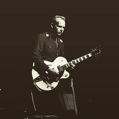 Ryan Cain with Gretsch