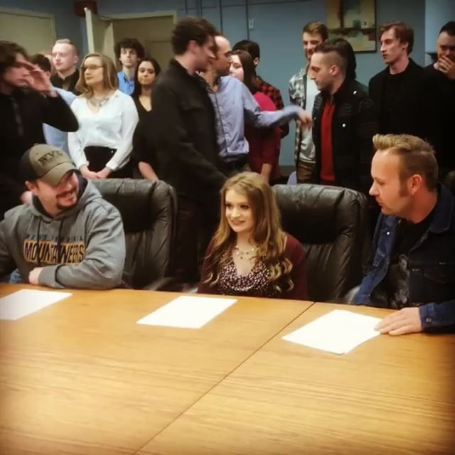 Signing with Mon Hills Records (Jan 2018)