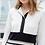 Thumbnail: Bleu Blanc Rouge MIRANDE Robe Dress 4315