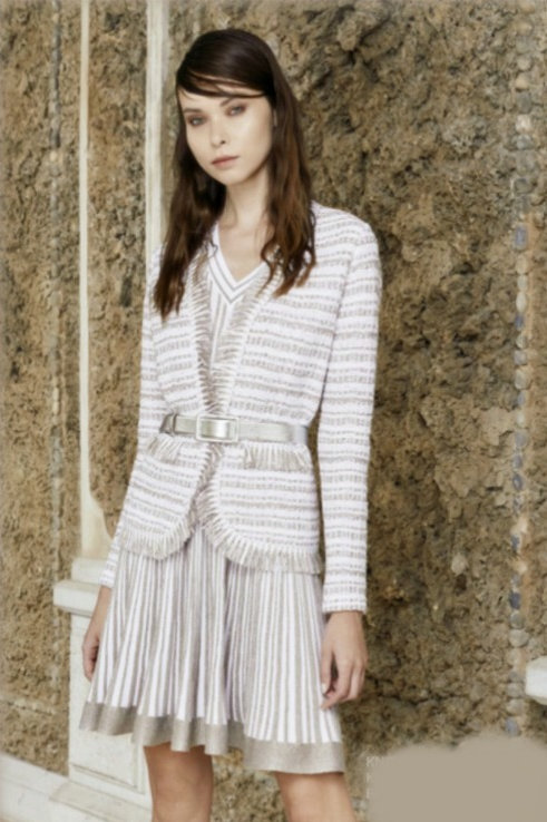D'Exterior Spring Summer 2021 Collection Knit Jacket 52413.png