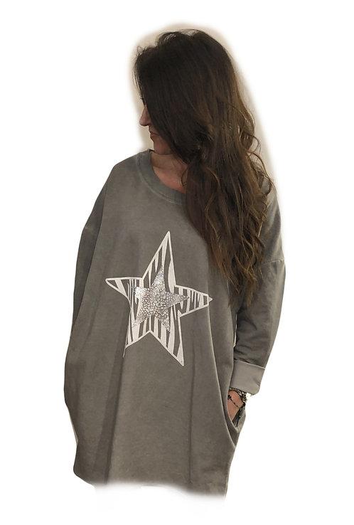 Oversized Sweater_JumperDress STAR  Mousetrap Sevenoaks New Spring Summer