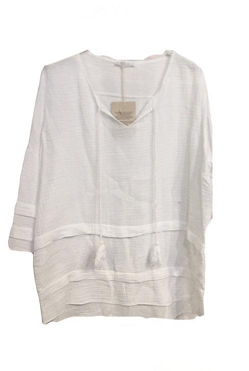 New Collection Linen Boho Top