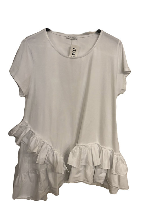 Frill T/Shirt NEW Mousetrap The High Street Collection SS2021