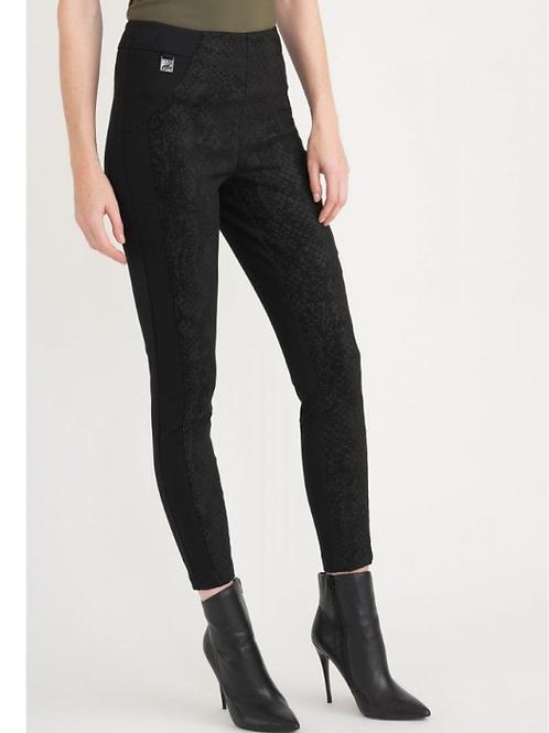 Joseph Ribkoff Snake Skin Print High Waist Pants Style 203327
