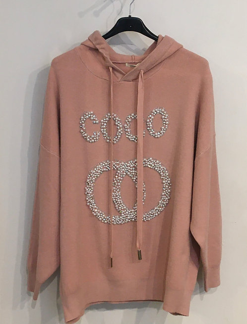 Knitted Co Co Hoodie