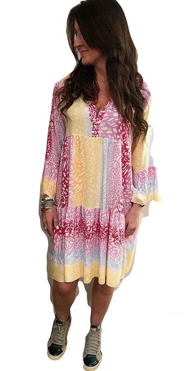 Animal Print High Summer BOHO Dress NEW SS2021
