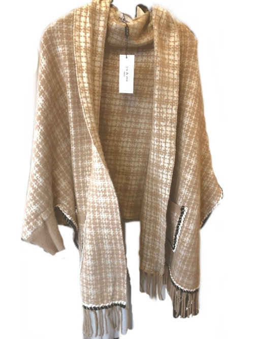 Daisy Knitted Wrap