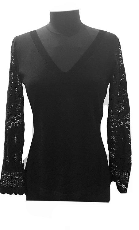 D'Exterior 52345 Long Sleeve Sweater Spring Summer 2021 NEW