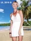 Short White Crochet Dress