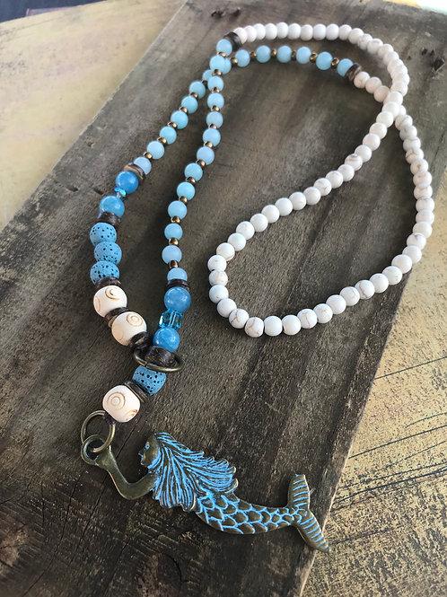 Mermaid Lariat Necklace