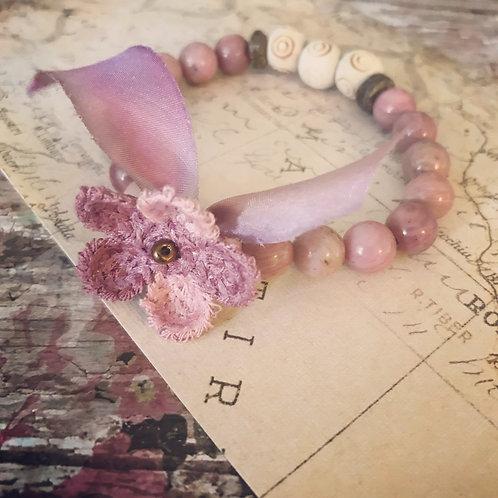 Flower Rhodonite