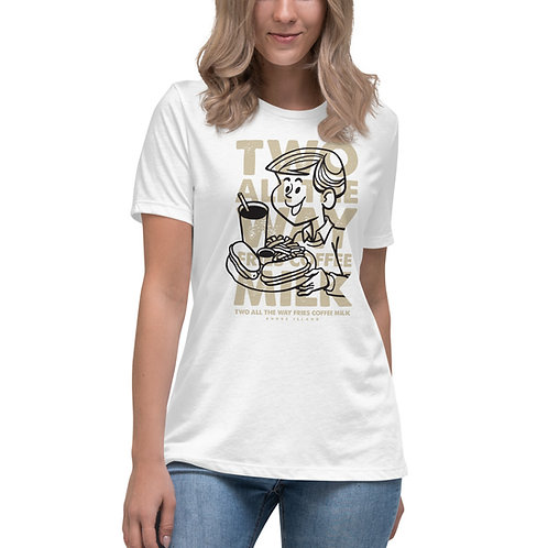 TWO ALL THE WAY | Women's Bella+Canvas Relaxed T