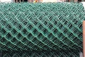 Green PVC Chain mesh - side profile.JPG