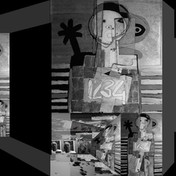 Autoportret on a folding wall.jpg