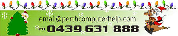 Perth Computer Help Christmas footer