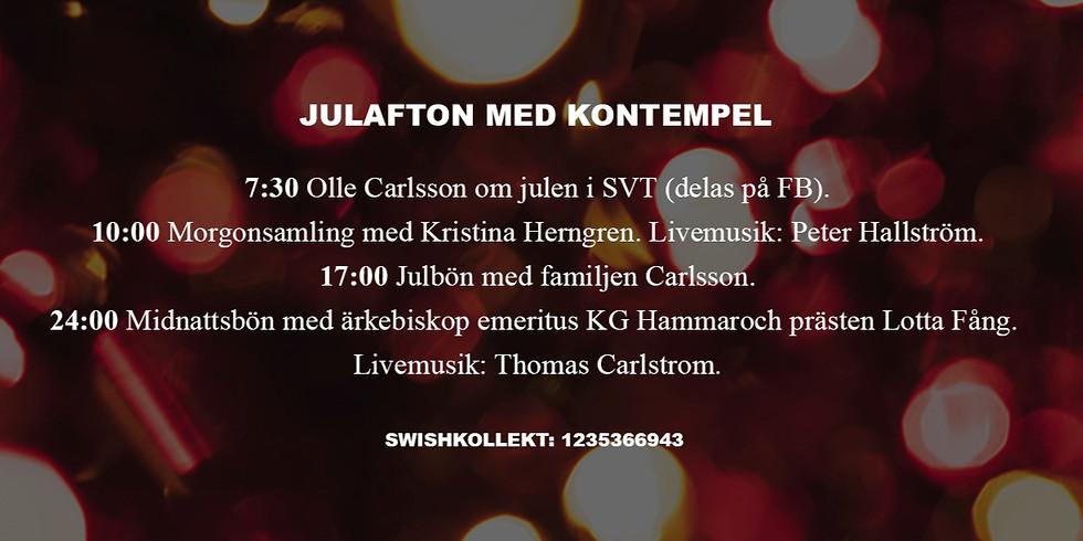 Julafton med Kontempel (Facebook Live)