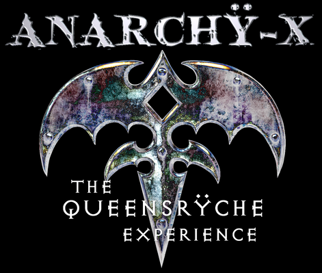 AnX Logo on Black Background