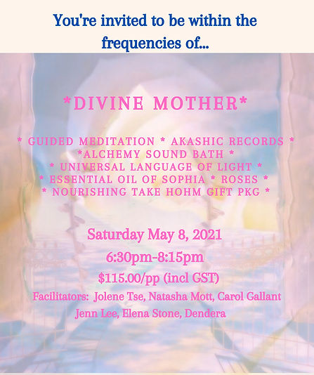 Divine Mother... Akashic Records _ Alche