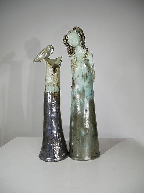 סט אגרטל עם פסל
